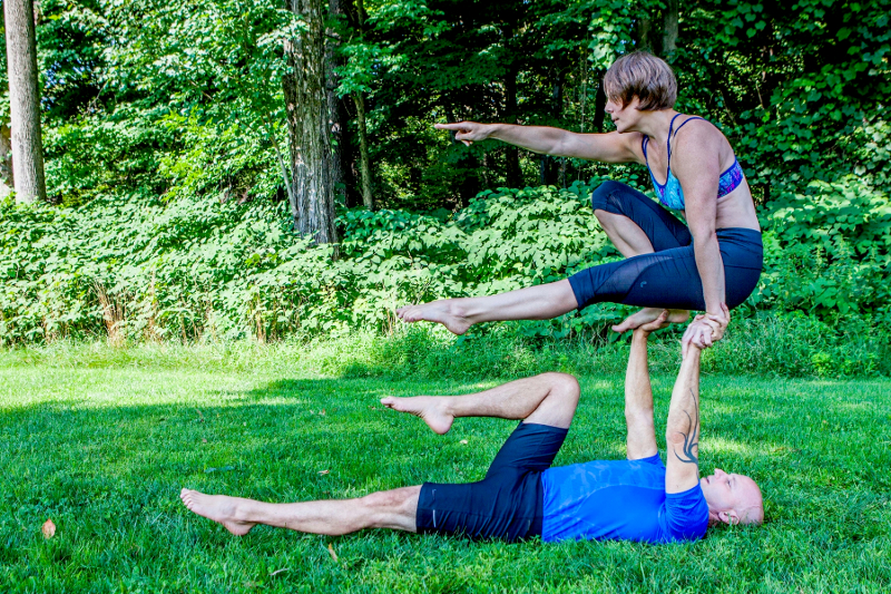 AcroYoga Workshop 10/20, 2-4:30pm