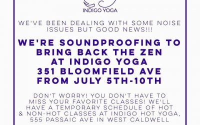 We're Soundproofing Indigo Yoga in Caldwell!