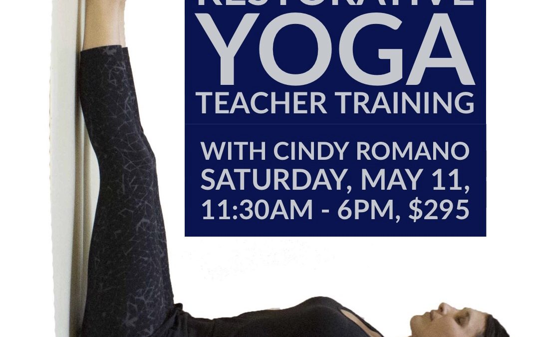 Restorative Yoga Teacher Training Intensive at 351 Bloomfield Ave