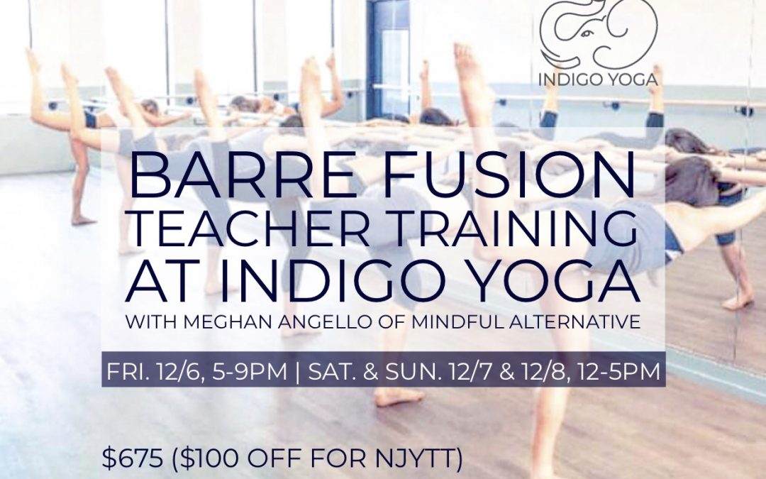 Barre Teacher Training  with Meghan Angello