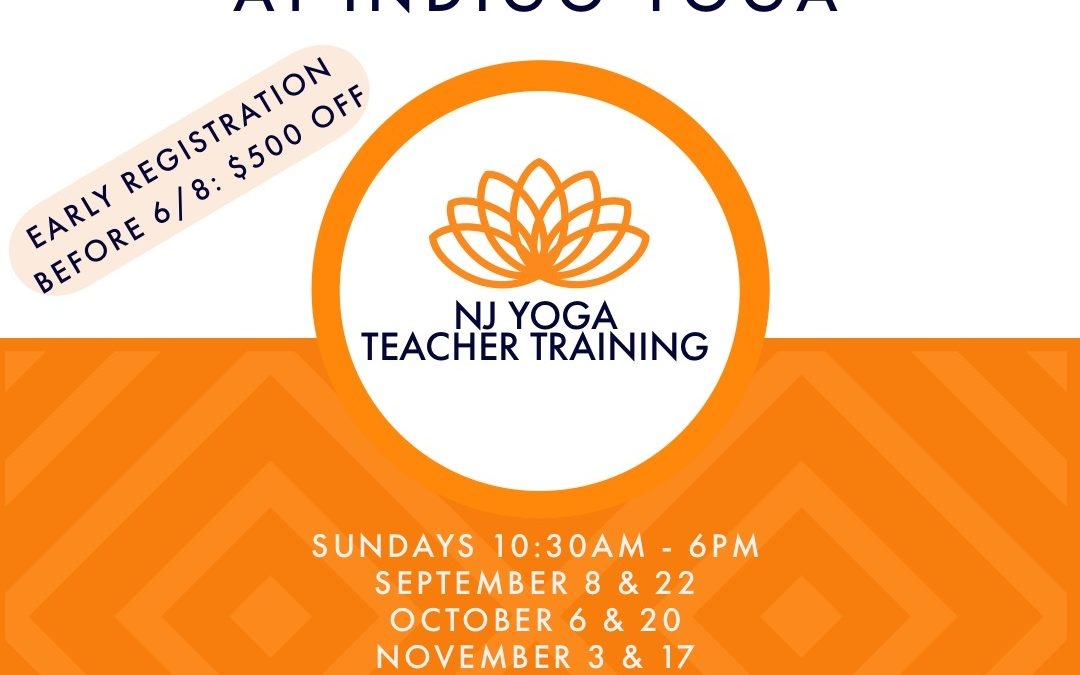 200 Hour New Jersey Yoga Teacher Training (Fall)  with Stephanie Parcells