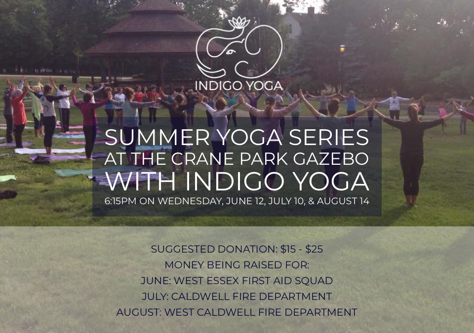 Yoga at the Crane Park Gazebo (donation based) with Donna D'onofrio