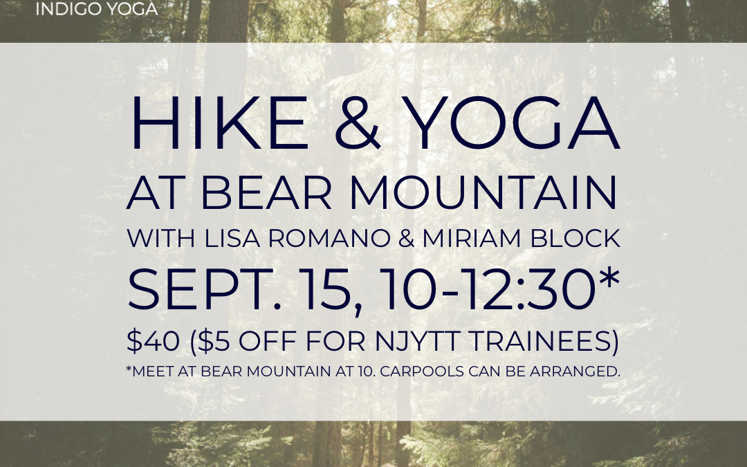 Hike & Yoga Day Retreat  with Lisa Romano & Miriam Block
