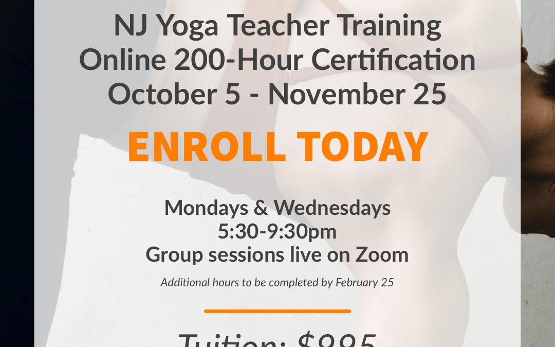 Virtual 200-Hour Yoga Teacher Training Immersion with Cynthia Romano