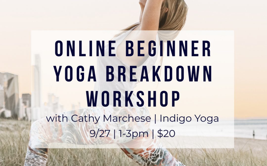 Online Beginner Breakdown Workshop with Cathy Marchese