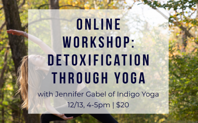 Online Workshop: Detoxification Through Yoga with Jennifer Gabel