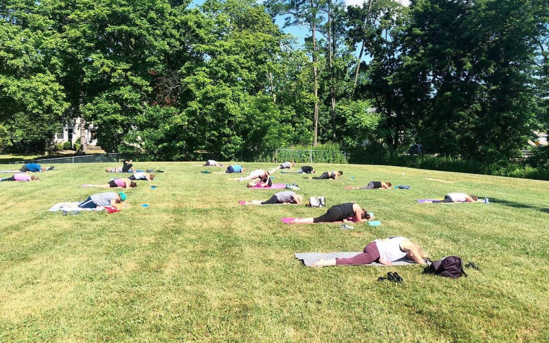 Outdoor Classes are BACK
